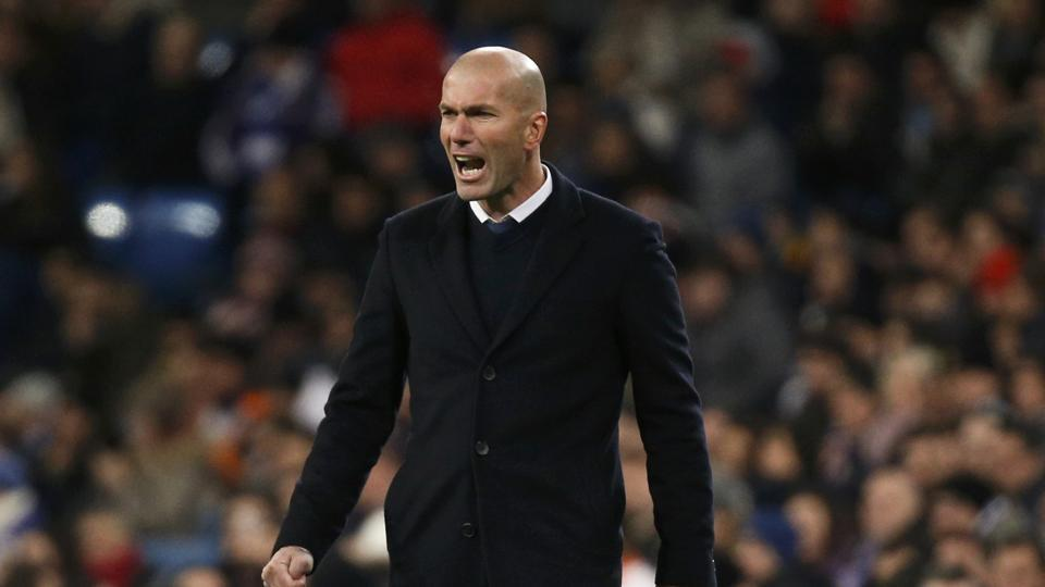 Real Madrid appointed Zinedine Zidane as coach in January last year.