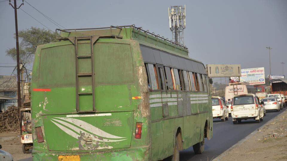 air pollution,diesel buses,Ghaziabad