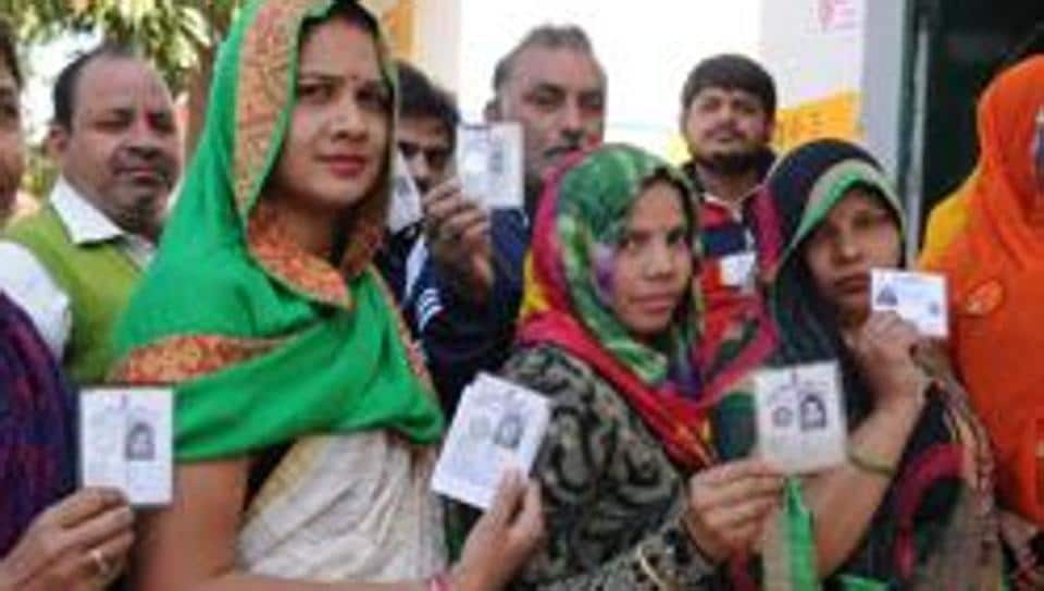 Voting for the UP assembly elections was held in Gautam Budh Nagar district onFebruary 11.