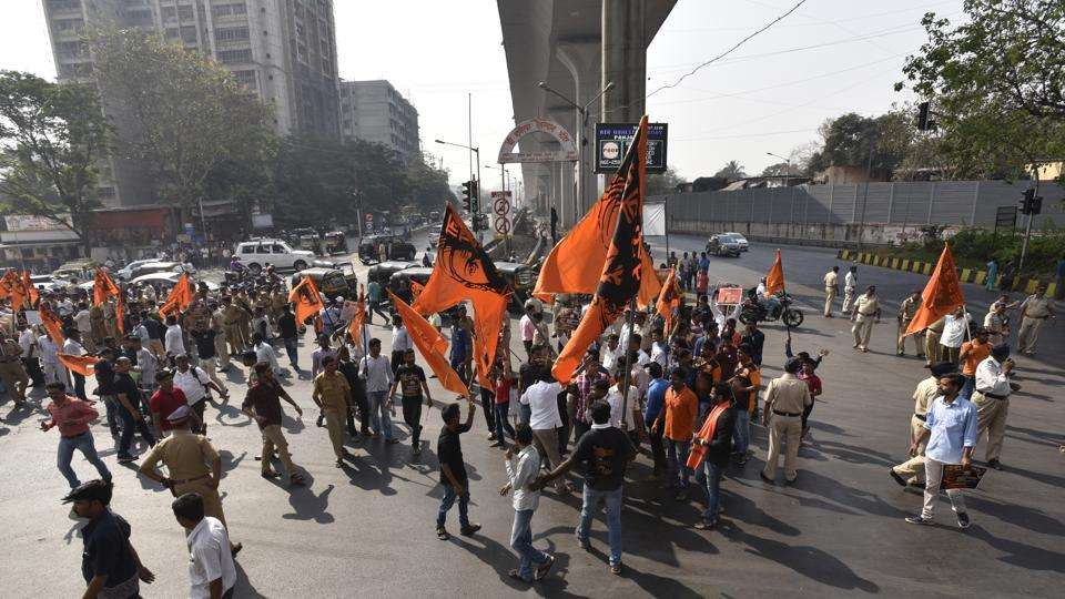 Acting on petitions, the court on November 14, 2014, stayed the state government's decision to give 16 per cent reservation for Marathas.