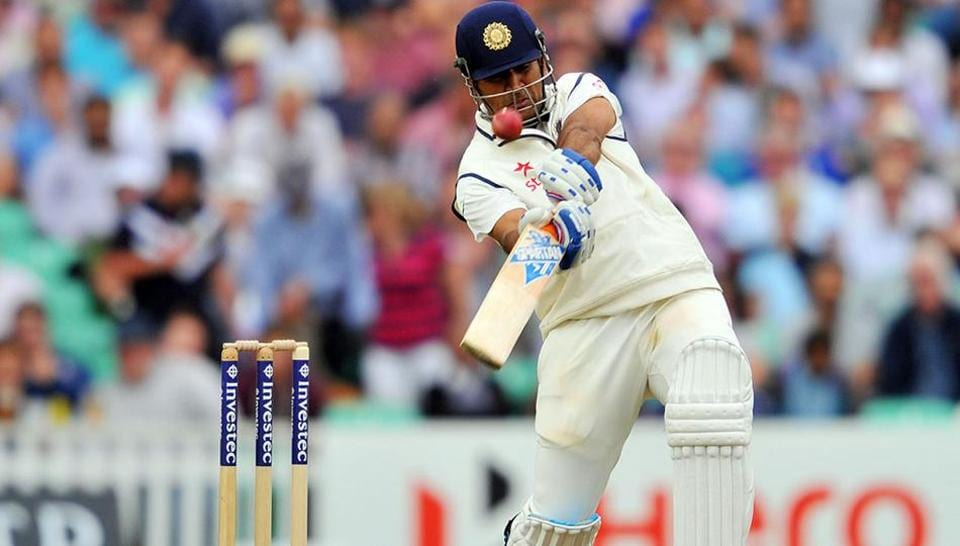 MS Dhoni retired from India Test cricket team in 2014.