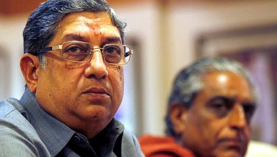 BCCI,N Srinivasan,Vinod Rai
