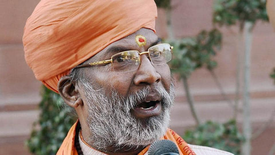 BJP leader Sakshi Maharaj said everyone in India should be cremated.