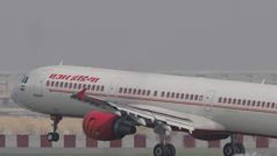 Air India flight,IGI airport,Delhi-Cochin-Dubai plane