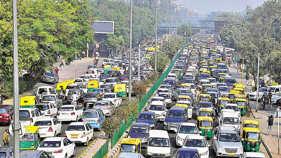 Kashmere Gate,Ring Road,Delhi traffic