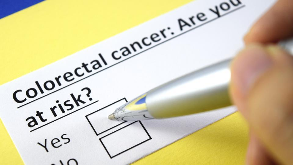 Symptoms of colorectal cancer include blood in stool, changes in bowel habits, unintended weight loss, cramps or abdominal pain.