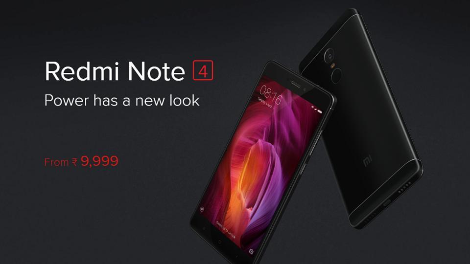 Xiaomi,Redmi Note 4,Flipkart