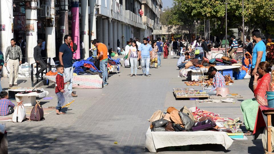 Reviving Chandigarh Sector 17,vendors,Street Vendor's Act 2014