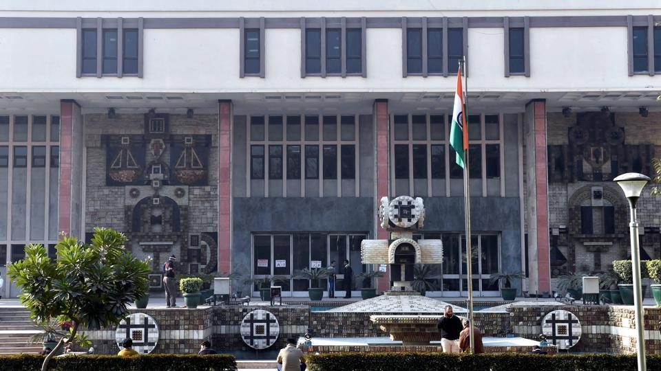 A view of Delhi High Court building.