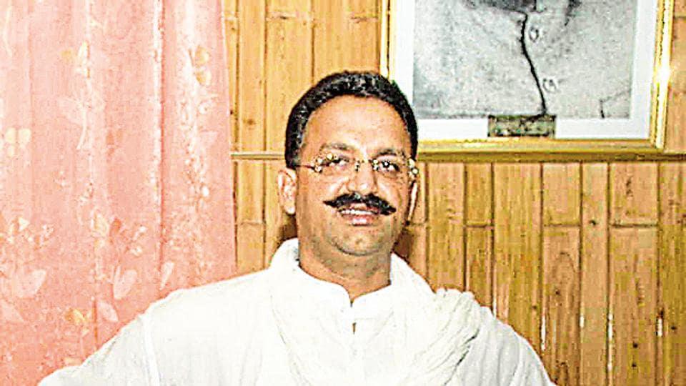 File photo of Mukhtar Ansari