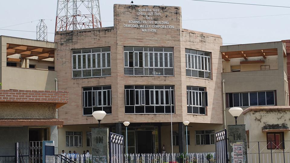 Damodar Valley Corporation office at Maithon in Dhanbad.