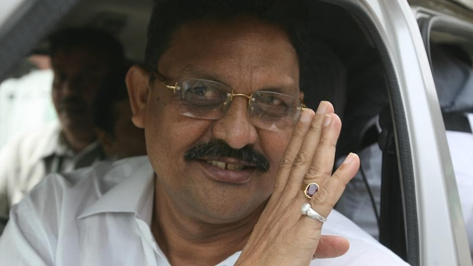 The Ansari brothers, including Afzal Ansari (in photo), wield influence among Muslim and some backward castes in four districts of Ghazipur, Ballia, Azamgarh and Mau.