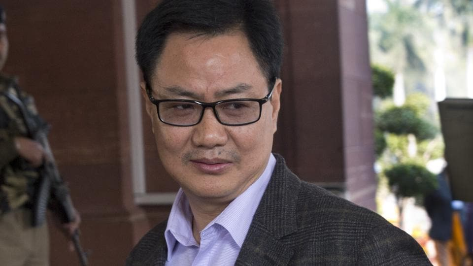 Minister of state for home Kiren Rijiju posted a jawan's video on Twitter on Wednesday, giving a fresh twist to a swirling row on nationalism.