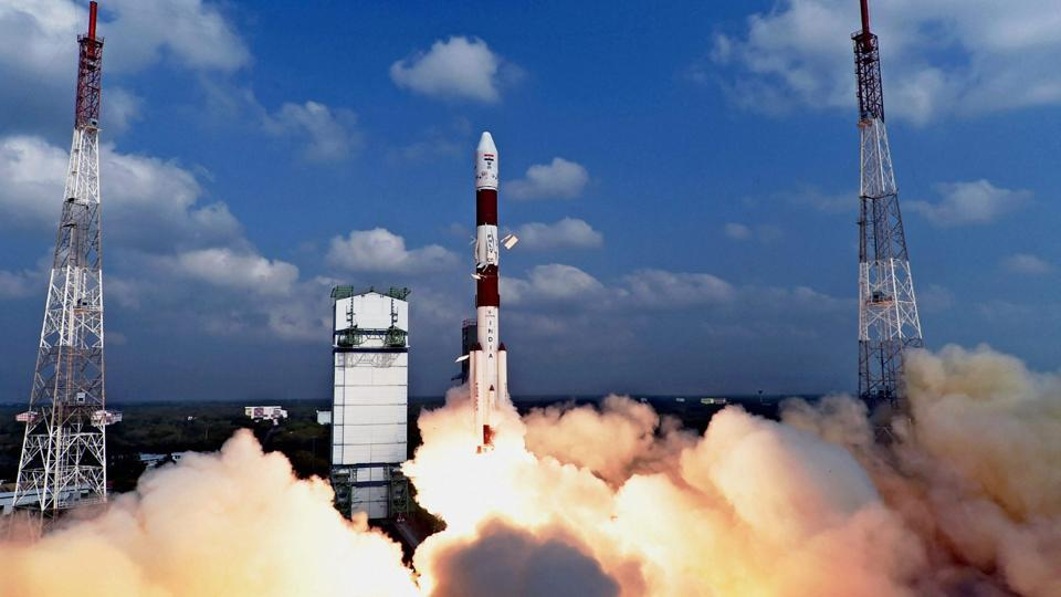 Space agency Indian Space Research Organisation successfully launching a record 104 satellites.