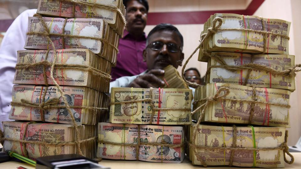 Six people were detained with demonetised notes of face value Rs 2.25 crore.
