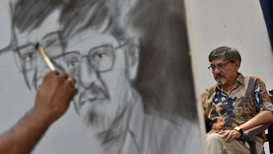 THE REAL PICTURE: A portrait being made. (Arijit Sen/HT Photo)