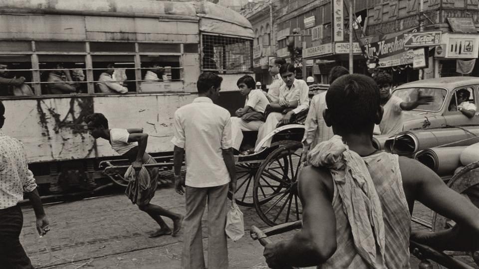 Calcutta, India, 1980 (Photo courtesy: David M. Rubenstein Rare Book & Manuscript Library at Duke University)