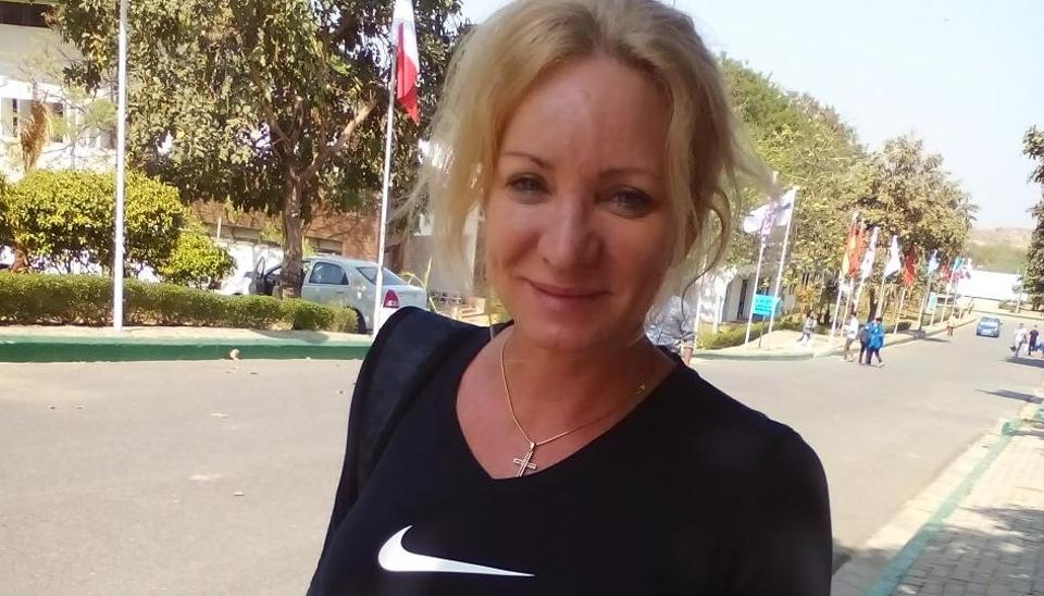 Bulgarian shooter Maria Grozdeva is in New Delhi currently for the ISSFWorld Cup.