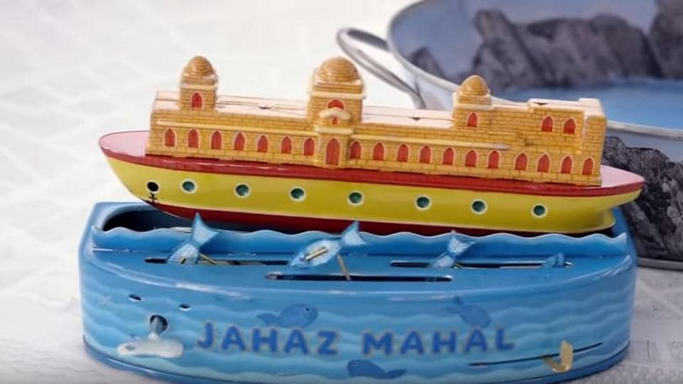 Screengrab from a tourism ad released by Madhya Pradesh government in 2016.