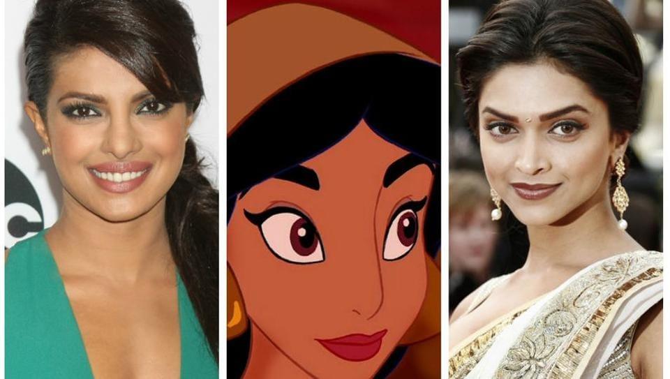 Priyanka Chopra,Deepika Padukone,Aladdin