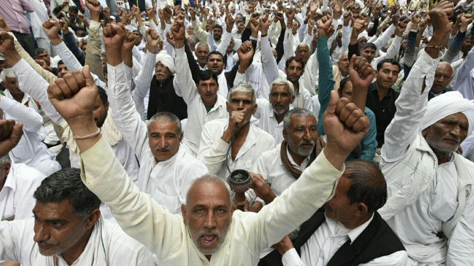 Agitating Jat protesters have threatened to block essential services to the capital if their demands for reservation are not met.
