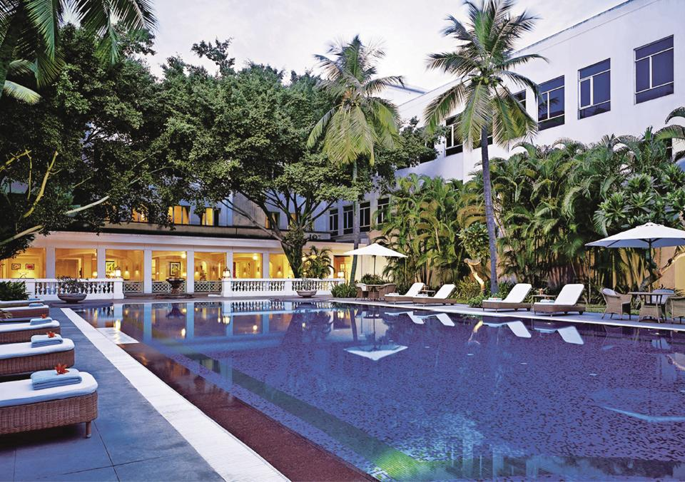 The Taj Connemara was downgraded to a Vivanta and put in the same category as the new hotels that the Taj Group had taken on management contracts