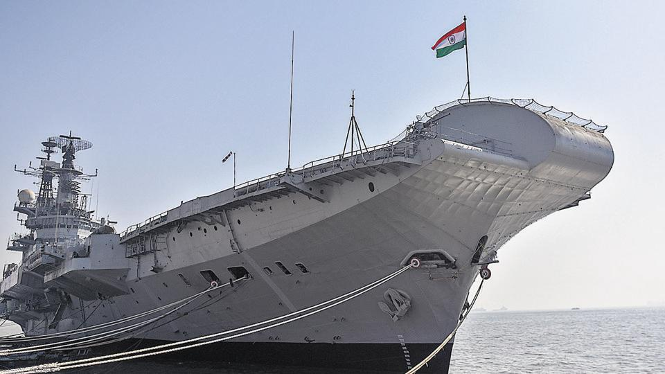 INS Viraat is scheduled to get decommissioned on 06 March 2017.(Photo by / Hindustan Times)