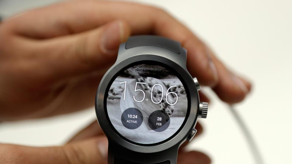 The new LG watch sport  (REUTERS)