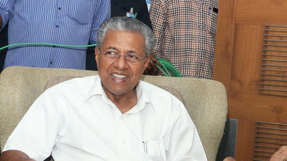 Kundan Chandrawat,Pinarayi Vijayan,Kerala CM