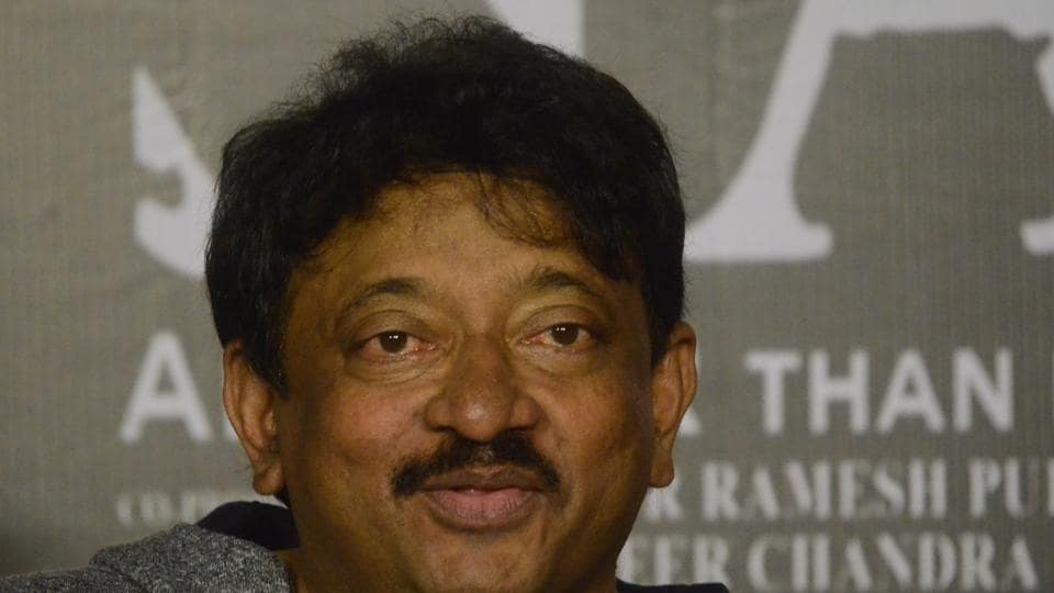 Ram Gopal Varma during the trailer launch ofSarkar 3.