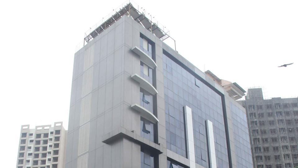 Delta IT Park building at Mira Road in Mumbai, where the call centre linked to a tax scam in Canada and the US was located. More than 500 employees of the call centre were detained for allegedly cheating and robbing US citizens in October 2016.