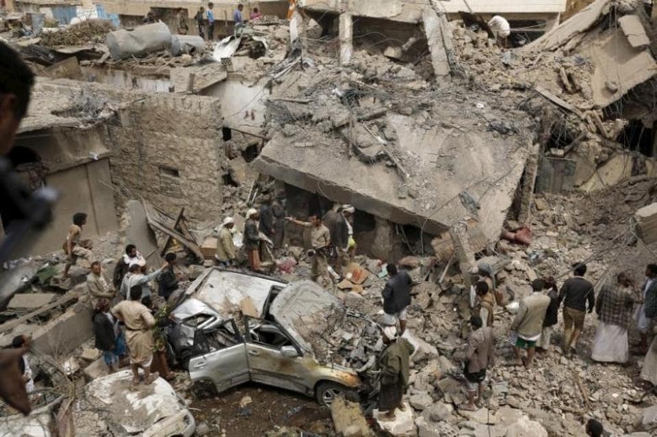 US forces on Thursday conducted a series of air strikes in Yemen against Al-Qaeda in the Arabian Peninsula.