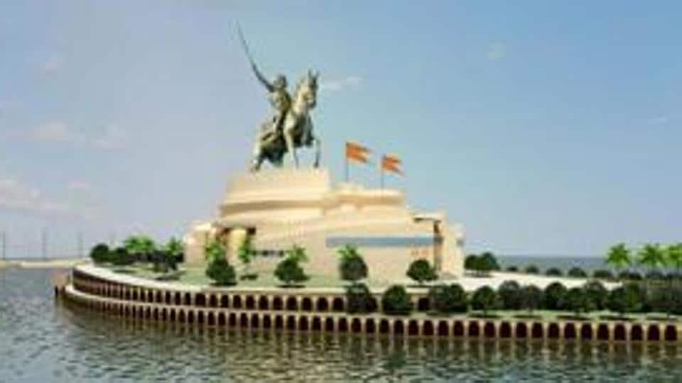 The mid-sea Chhatrapati Shivaji memorial involves building the world's tallest statue, surpassing the height of New York's Statue of Liberty.