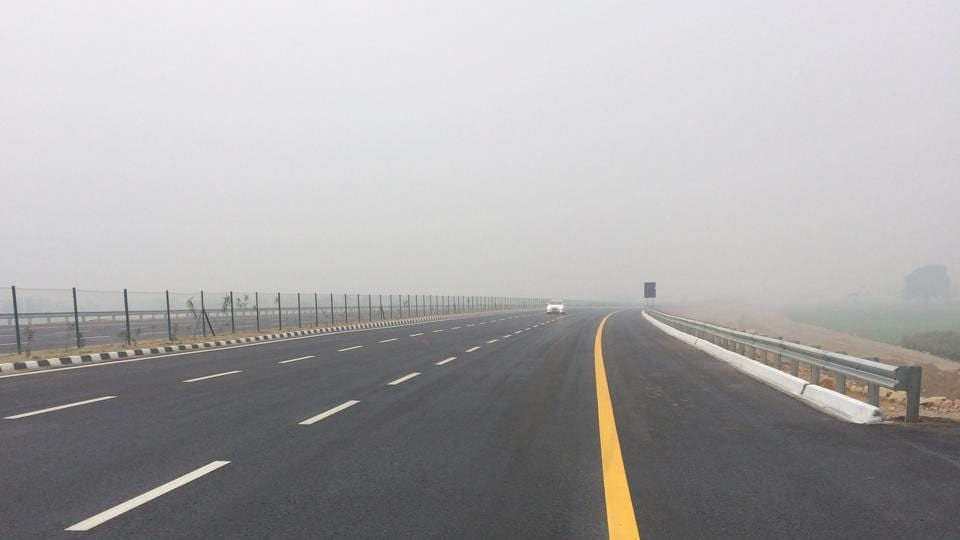 The Lucknow-Agra Expressway is touted to be the country's longest expressway.