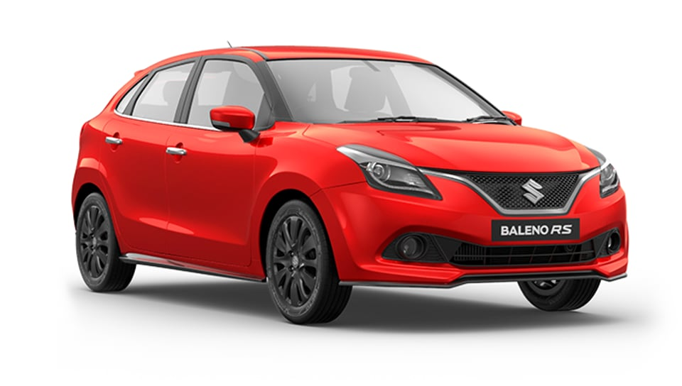 BalenoRS has small but aggressive changes -- the grille and the bumper add power to the stance.