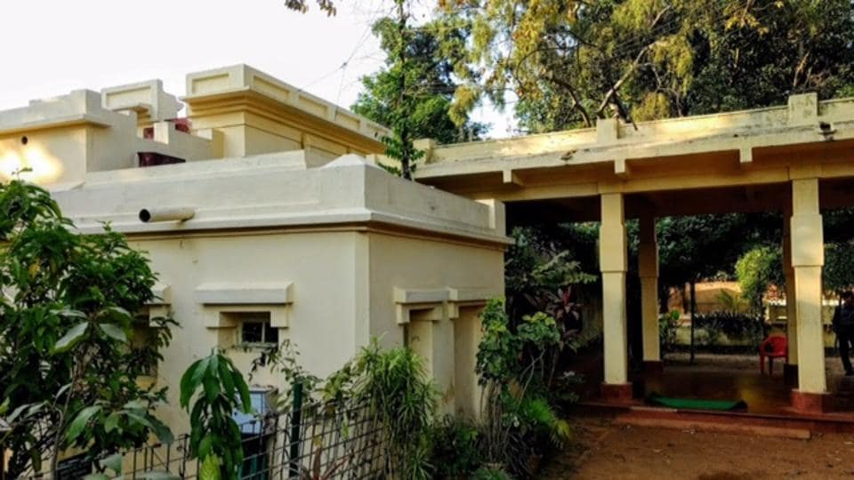 Konark is one of the houses in the heritage complex. Tagore built it in 1919.