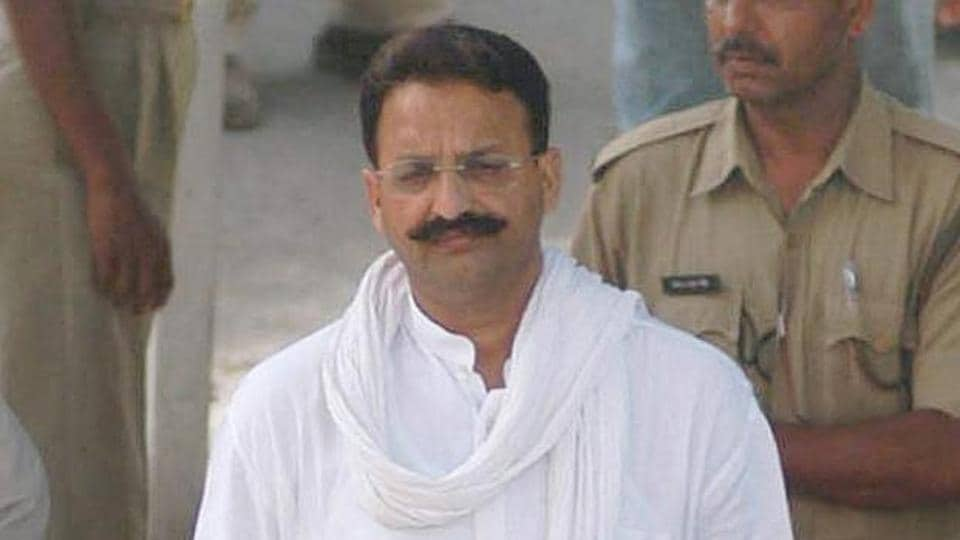 Gangster Mukhtar Ansari occupies the top slot not for the maximum number of cases.