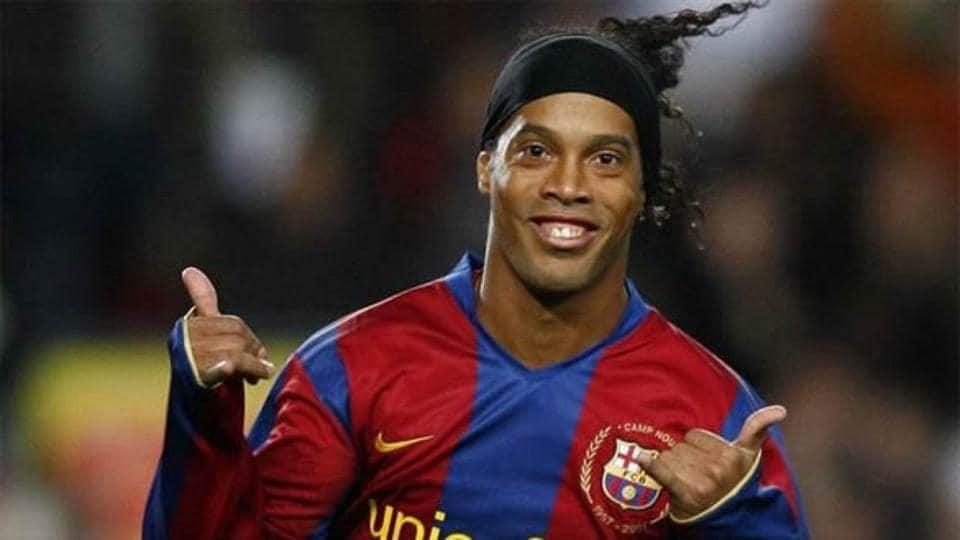 Ronaldinho will be making his debut for FCBarcelona legends against Real Madrid legends in Lebanon.