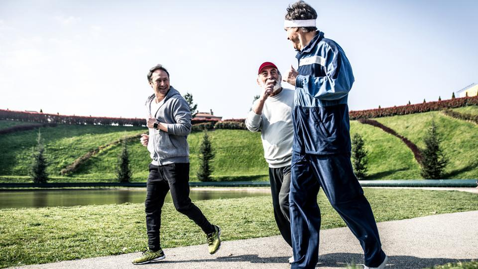 The health benefits of physical activity may be strong enough to outweigh the impact of being overweight or obese on cardiovascular disease among the elderly.