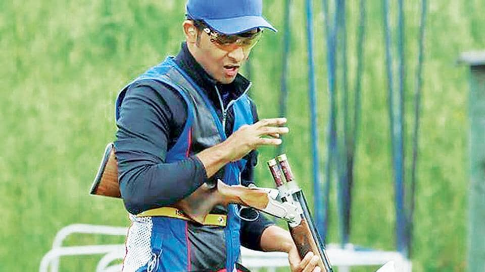 Angad Veer Singh Bajwa won the bronze badge in the ongoing ISSFWorld Cup.