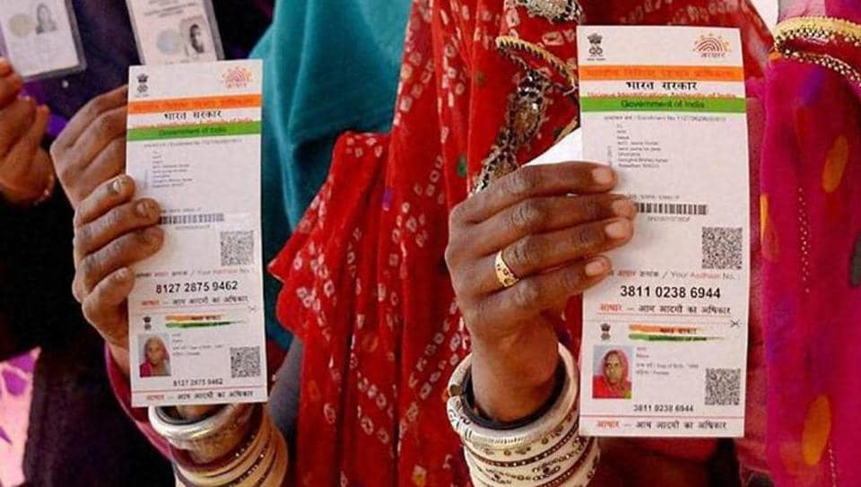 The government says over 1.13 billion people – or more than 90% of the eligible population – are registered under the Aadhaar programme.