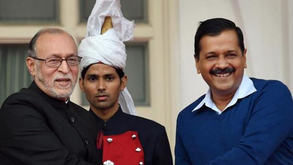 Anil Baijal,Arvind Kejriwal,AAP govt