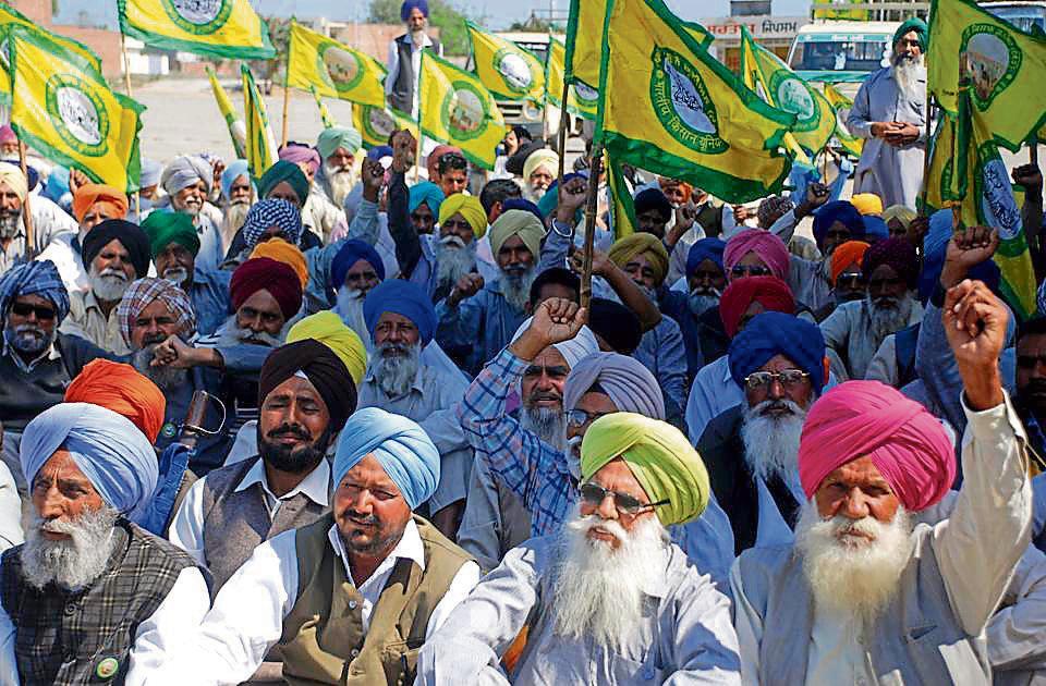 Farmer suicide,Punjab farmers,Farmer protest