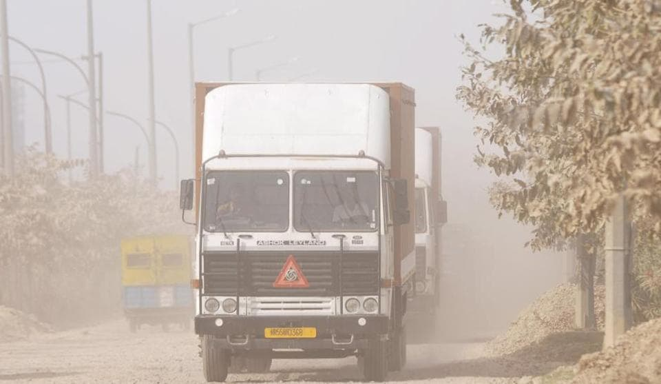 Rising air pollution has been a major worry for Noida residents.
