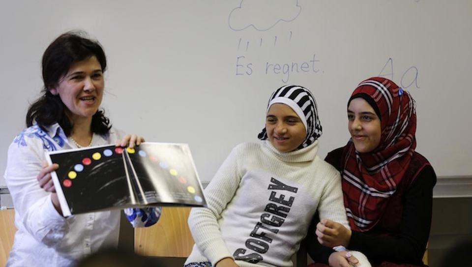 Germany,Germnay high school,Muslims in germany