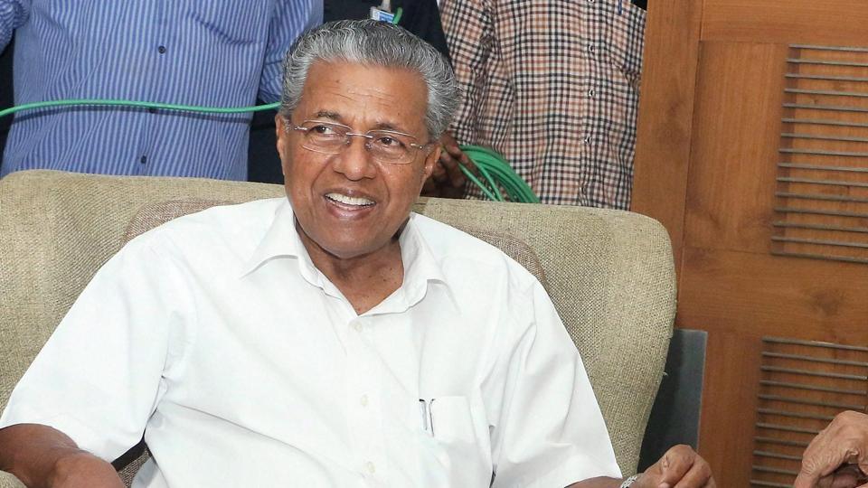 RSS leader Kundan Chandrawat from Ujjain had announced a reward of Rs 1 crore on the head of Kerala chief minister Pinarayi Vijayan (in photo).