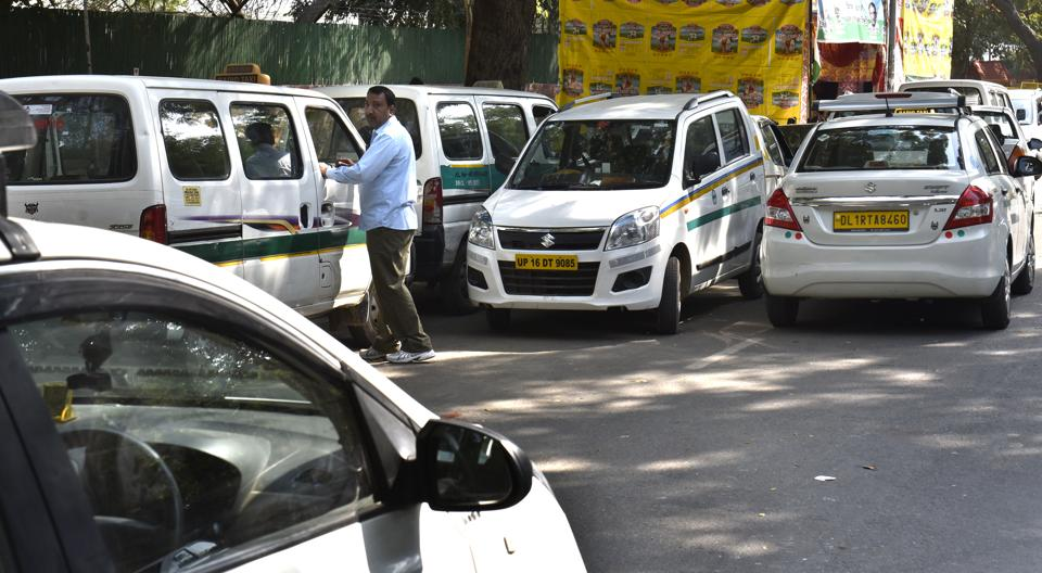 Uber,Ola,driver protest