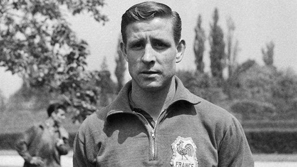 Raymond Kopa was a a former Real Madrid and France attacking midfielder.