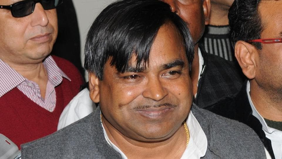 Gayatri Prasad Prajapati of the Samajwadi Party continues to dodge the police after being accused of rape.