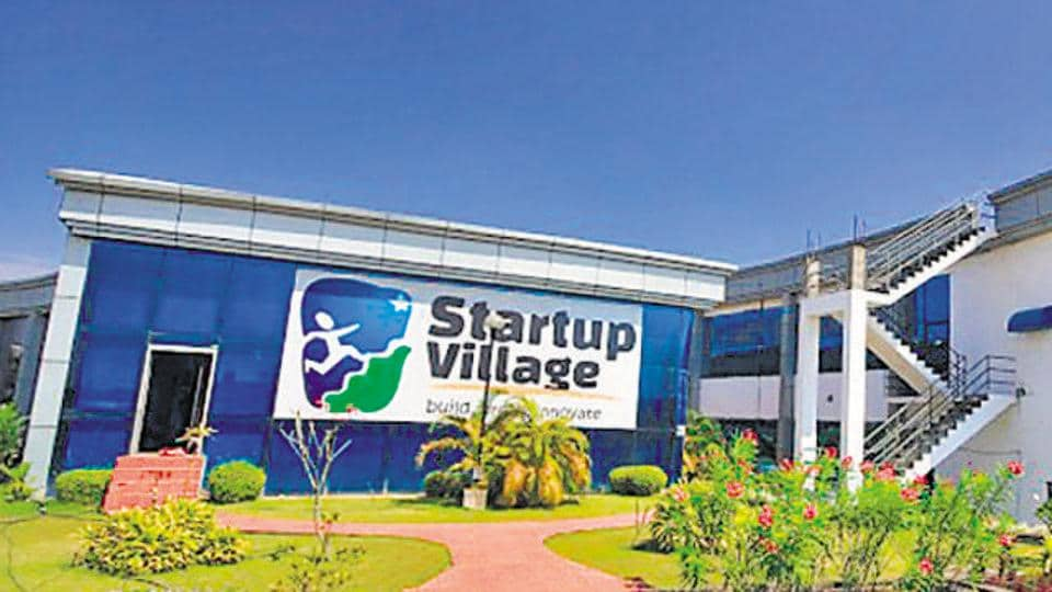 A view of the startup village in Kochi.